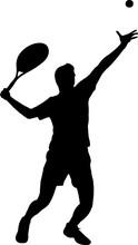 Tennis - Men 1 Isolated Vector...