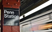 New York Subway Train City Transportation MTA Penn Station Commute To Work
