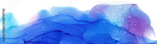 Photo  Alcohol ink multicolor texture