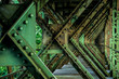 Leinwanddruck Bild - Zugbrücke