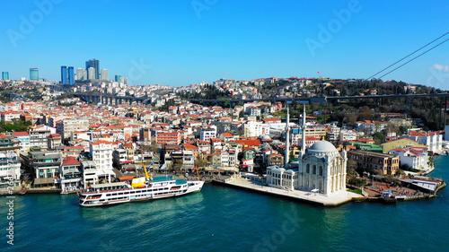 Printed kitchen splashbacks Athens Amazing aerial view of Istanbul.