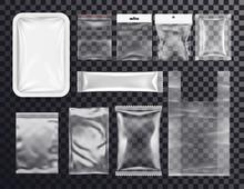 Realistic Plastic Pocket Bag M...