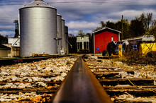 Silos In The Country