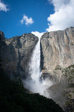 Yosemite Upper Fall From Trail, Early May 2019