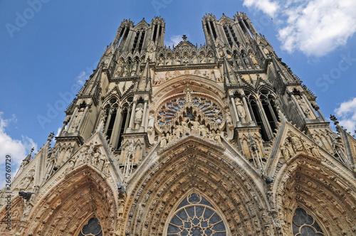 Canvas Reims, la cattedrale di Notre-Dame - Francia