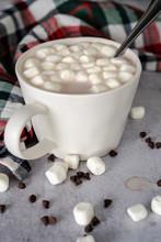Spoon In Mug Of Hot Chocolate ...