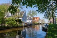 Traditional Dutch Village Broek In Waterland