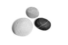 Scattered Sea Pebbles. Three S...