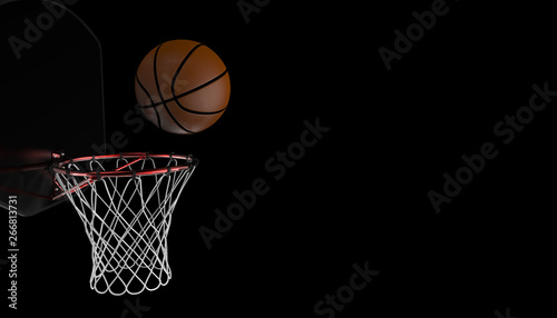 Basketball shot Wallpaper Mural