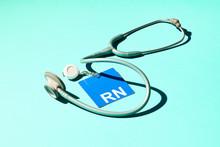 Registered Nurse ID Badge And ...