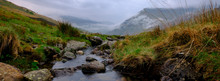 The View Towards Snowdon From Near Pen-Y-Pass, Wales
