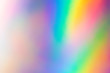 Leinwanddruck Bild - Blurry abstract iridescent holographic foil background.
