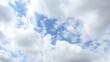 太陽の光、雲の流れはダイナミック、手前は下へ、遠方は上へ。令和元年5月7日の空。タイムラプス動画
