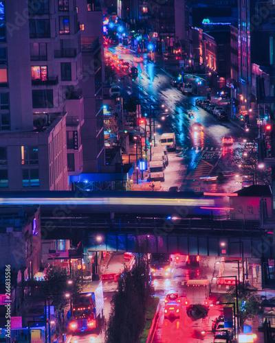 obraz PCV New York: Cyber City