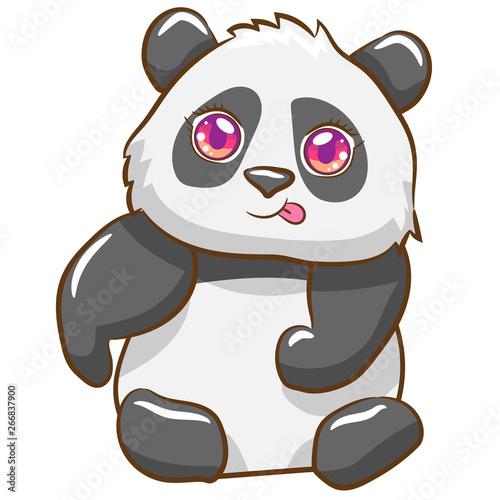 Wall Murals Bears panda vector graphic clipart