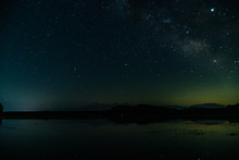 満点の星空と天の川」