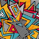 Fototapeta Młodzieżowe - psychedelic abstract graffiti background