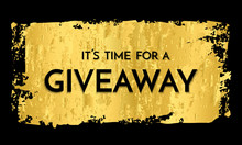 Time For A Giveaway - Banner T...