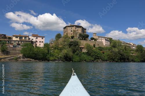 Fotografie, Obraz  Promontorio di Capodimonte, Lago di Bolsena