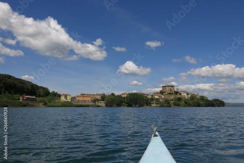 Promontorio di Capodimonte, Lago di Bolsena Tablou Canvas