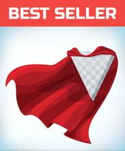 Red Hero Cape. Super Cloak. Re...