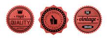 High Quality Guaranteed Badge