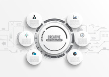 Vector Infographic Template Wi...