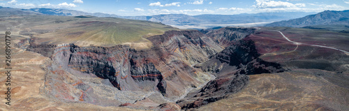 Father Crowley overlook in Death Valley, California Canvas Print