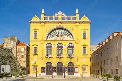 Croatian National Theater in Split, Croatia
