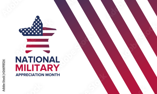 Photo  National Military Appreciation Month in May
