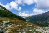 A beautiful view of the Western Tatra Mountains. Rohacska dolina. Slovakia.