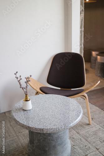 Fotografie, Obraz  Interior design multipurpose table in modern style
