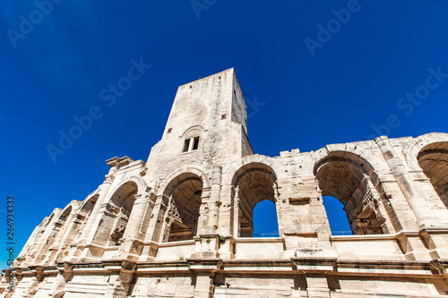 Arles Amphitheatre in France Wallpaper Mural