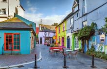 Street In Kinsale, Ireland