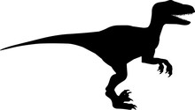 Velociraptor 2 Isolated Vector...