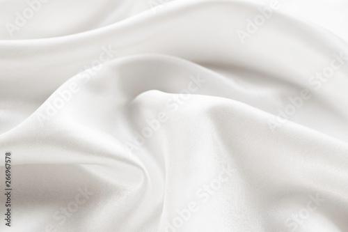 Fotografie, Obraz  white silk texture