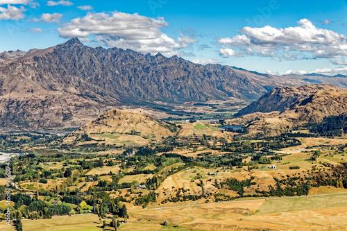 Neuseeland Südinsel - Arthur Point bei Queenstown in der Otago Region Wallpaper Mural