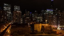 Evening Night Time Lapse Of We...