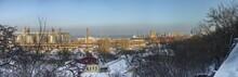 Odessa Cargo Port Winter