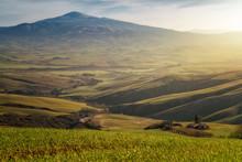 Majestic Landscape Of Green Va...
