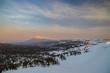 Snowy scenery of Hachimantai in Tohoku region