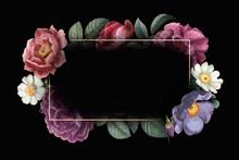 Floral Framed Card