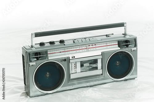 Fototapeta  ステレオラジオカセットレコーダー