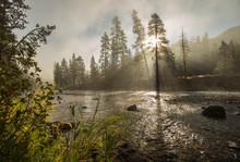 South Fork Boise River Morning