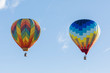 canvas print picture colorful hot air balloon in the sky