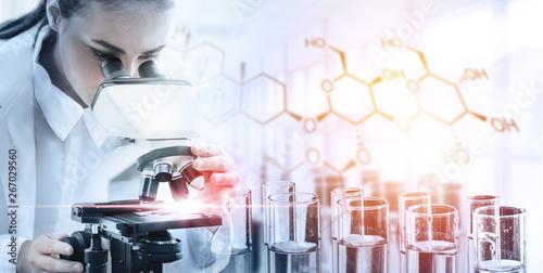 Stampa su Tela  Research and development concept
