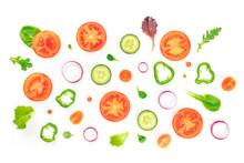 Fresh Vegetable Salad Ingredie...