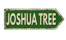 Josua Tree Vintage Rusty Metal...