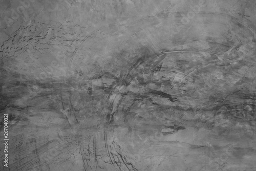 Poster de jardin Metal grey concrete wall background, dirty cement floor, marble stone texture