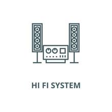 Stereo, Sound, Hi Fi System Ve...